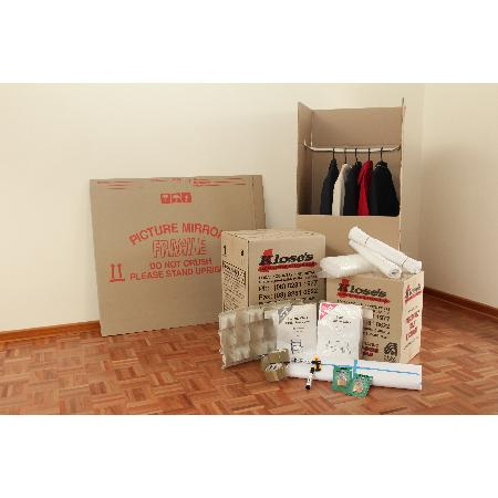 KlosesRemovalsBoxesAndPackagingSupplies
